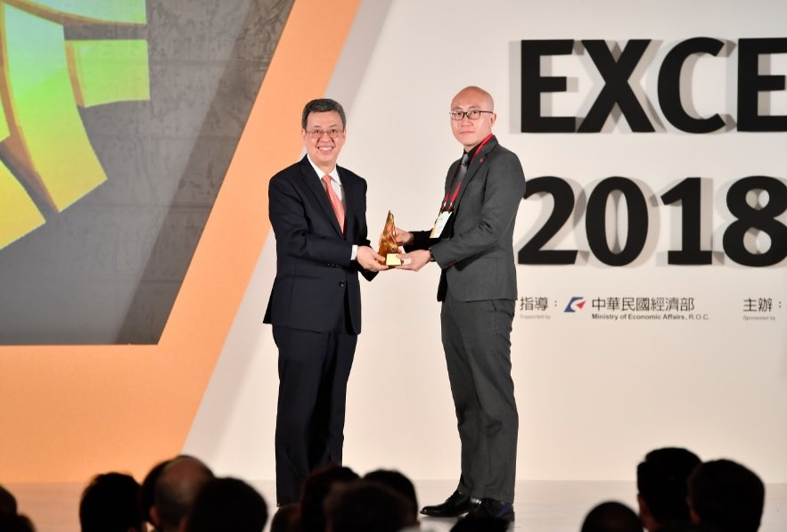 EvO Lectus ได้รับรางวัล 2018 Taiwan Excellence Gold Award