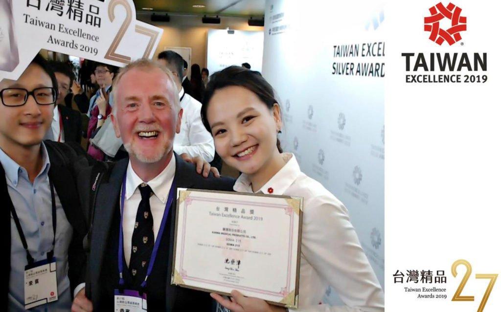 SOMA 215 ได้รับรางวัล Taiwan Excellence Award 2019