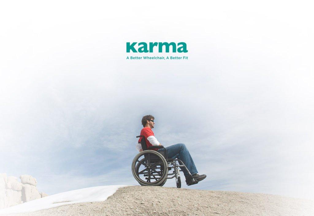 รถเข็นวีลแชร์ คาร์ม่า karma